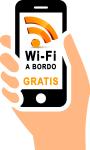 Wi-fi gratis a bordo del minibus y autobus de alquiler